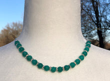 Amazonite & Silver Necklace