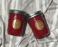 Apples & Maple Bourbon Mason Jar Soy Candle