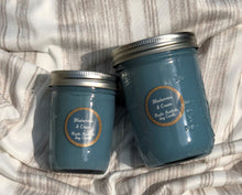 Blueberries & Cream Mason Jar Soy Candle