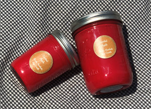 Candied Apple Mason Jar Soy Candle