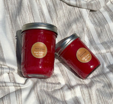 Red Hot Cinnamon Mason Jar Soy Candle