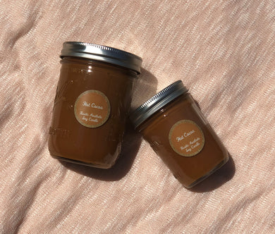 Hot Cocoa Soy Candle with