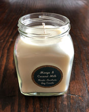 Mango & Coconut Milk Soy Candle in a Jelly Jar