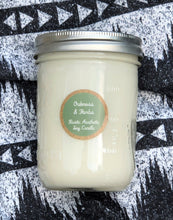 Oakmoss & Herbs Soy Candle in an Iconic Mason Jar