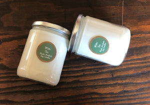 White Tea Soy Candle in an Iconic Jar