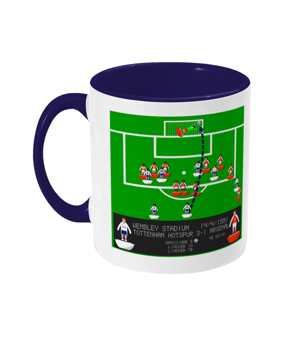 Football Iconic Moment 'Paul Gascoigne Tottenham Hotspur v Arsenal 1991' Mug