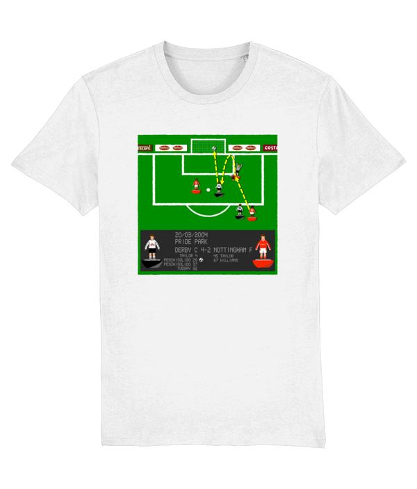 Football Iconic Moment 'Paul Peschisolido DERBY v Nottingham F 2004' Unisex T-Shirt