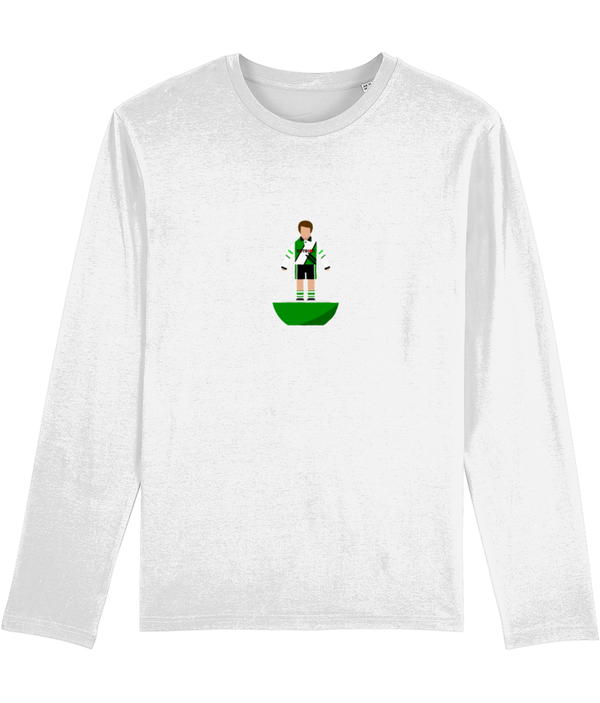 Football Player 'Plymouth 1995 Mini Print' Men's Long Sleeve