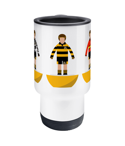 Travel Mug Rugby Union 'East Kilbride Academy Combined'