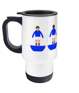 Football Player 'Portsmouth 1983' Travel Mug