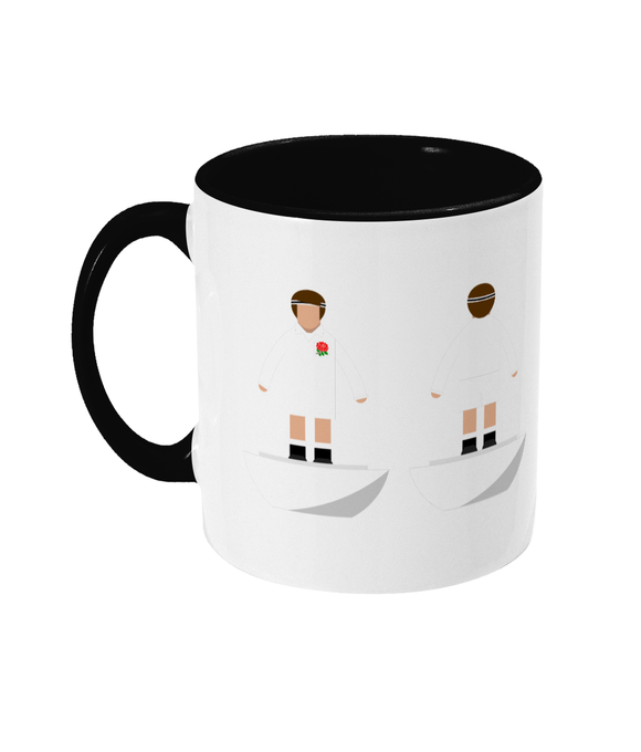 Rugby Union Player 'England Traditional' Mug