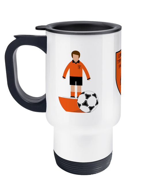 Football Player 'Tywyn Bryncrug' Travel Mug Fundraiser