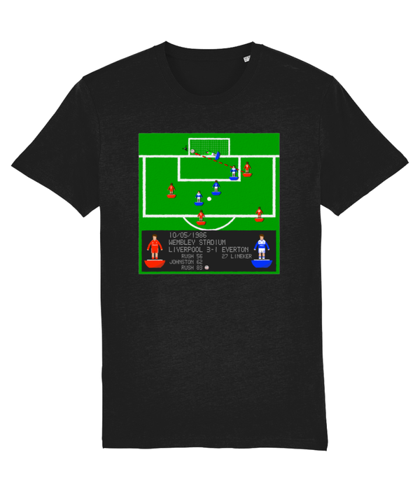 Football Iconic Moment 'Ian Rush Liverpool v Everton 1986'  Unisex T-Shirt