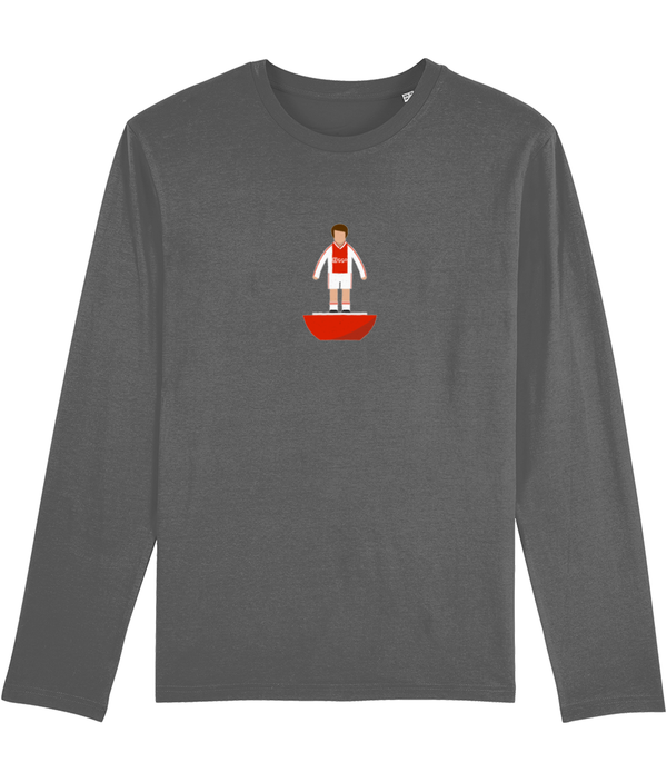 Football Player 'Ajax 2019 Mini Print' Men's Long Sleeve