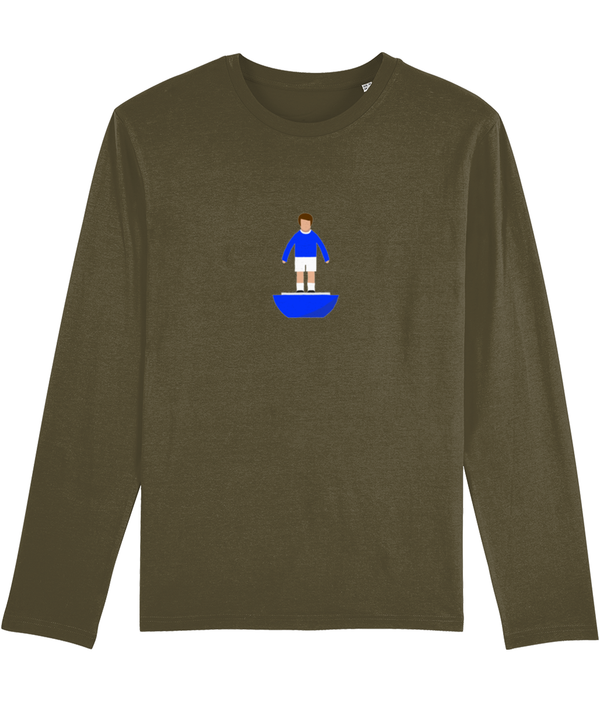 Football Player 'Everton 1970 Mini Print' Men's Long Sleeve