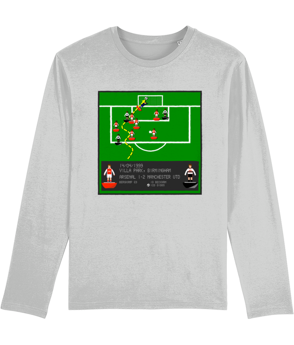 Football Iconic Moment 'Ryan Giggs Arsenal v MANCHESTER U 1999' Men's Long Sleeve