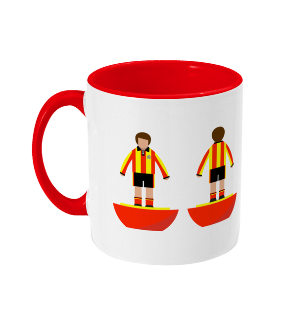 Football Player 'Partick Thistle 1975' Mug