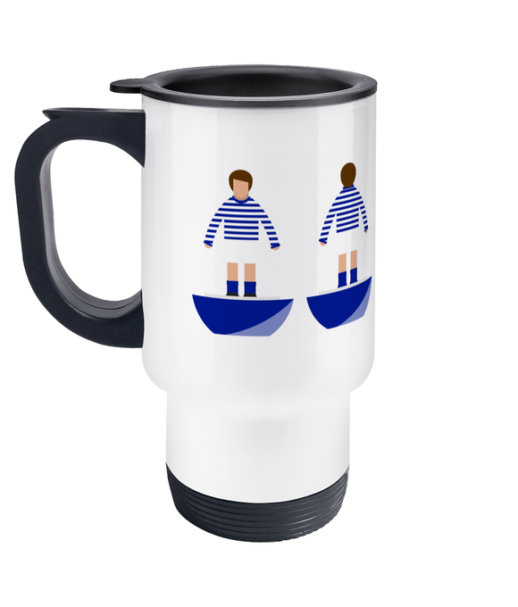 Football Player 'Preston 1882' Travel Mug