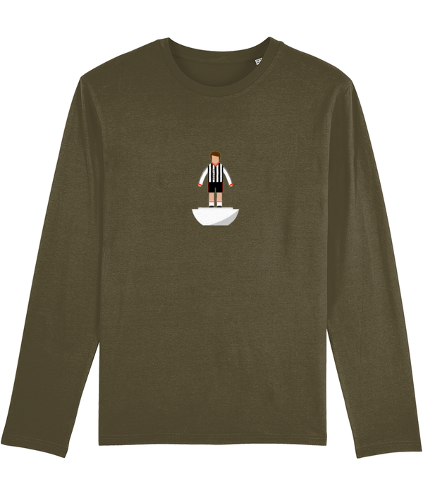 Football Player 'Grimsby 1981 Mini Print' Men's Long Sleeve