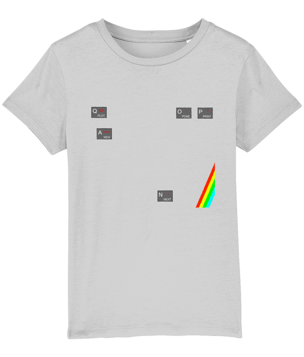 Gaming Sinclair Iconic 'ZX Spectrum QAOP' Children's T-Shirt