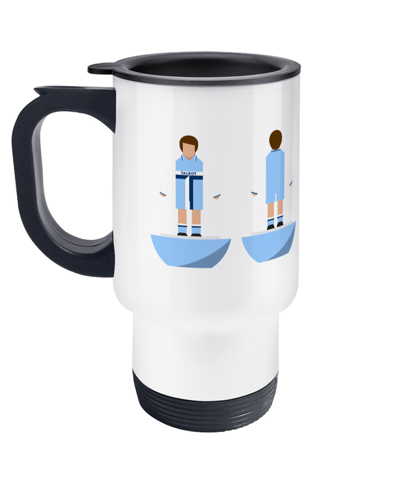 Football Player 'Coventry 1981' Travel Mug