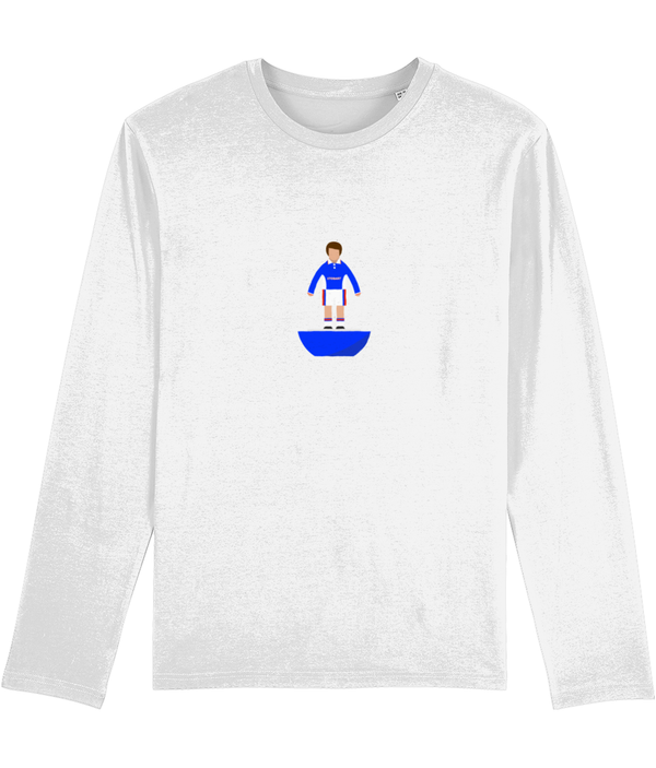 Football Player 'Carlisle 1997 Mini Print' Men's Long Sleeve