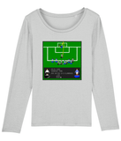 Football Iconic Moment 'Andy Walker Ayr United v Kilmarnock 1999' Ladies Long Sleeve