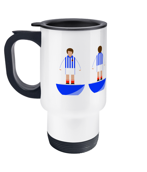 Football Player 'Stockport 1982' Travel Mug