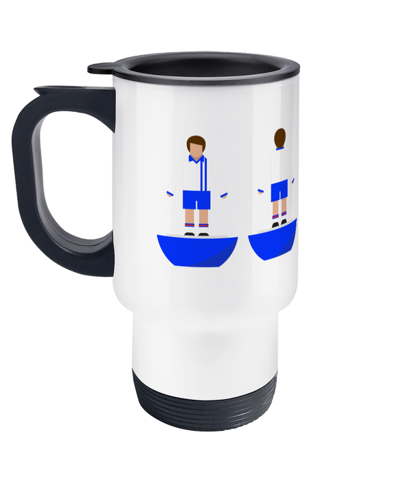 Football Player 'Portsmouth 1973' Travel Mug