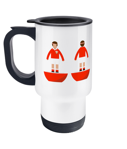 Rugby Union Player 'Wales Traditional' Travel Mug