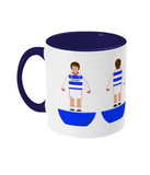 Football Player 'QPR 1986' Mug