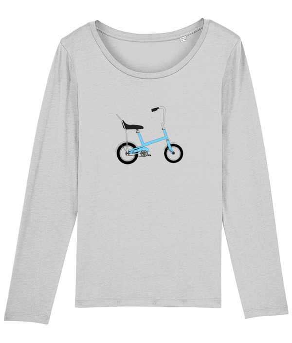 Toys Bikes 'Budgie Blue' Ladies Long Sleeve