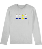 Football Player 'Leeds Combined Mini Print' Men's Long Sleeve