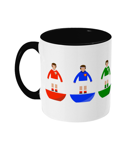Rugby Union Player 'Six Nations Combined' Mug