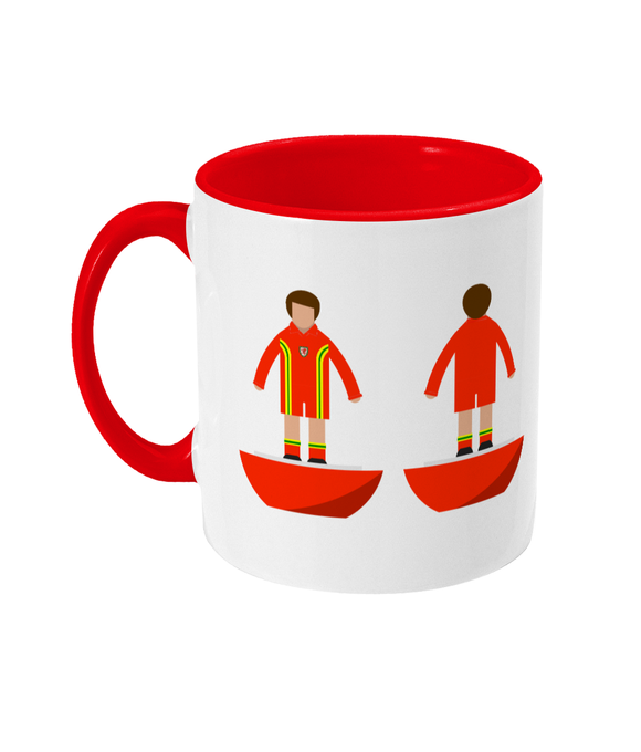 Football Player 'Wales 1976' Mug