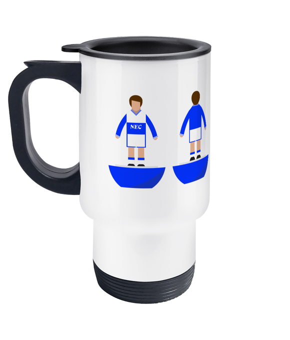 Football Player 'Everton 1986' Travel Mug
