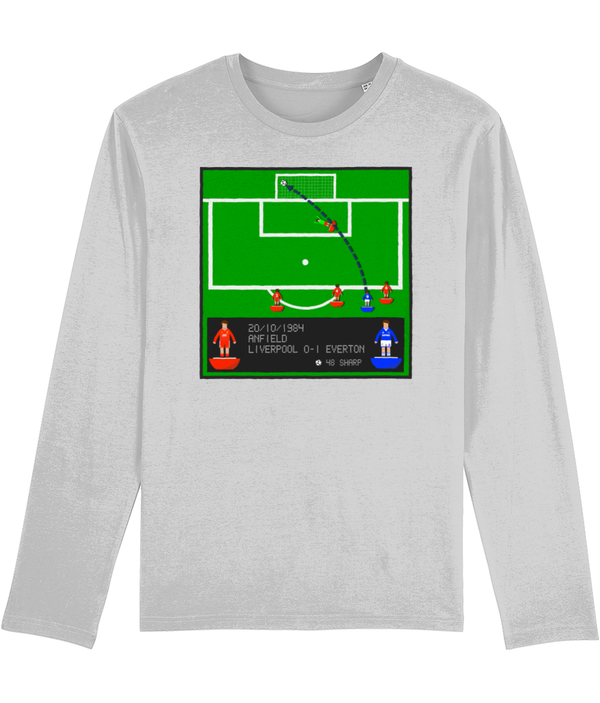 Football Iconic Moment 'Graeme Sharp Liverpool v EVERTON 1984' Men's Long Sleeve