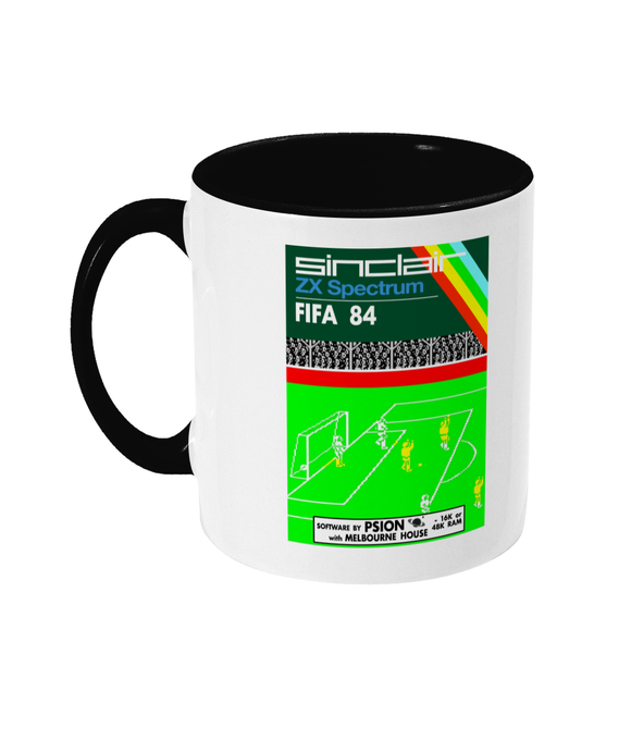 Gaming Sinclair Modern 'PSION FIFA 84' Mug
