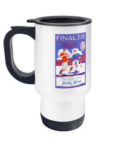 Football Retro '1927 FA Cup Final' Travel Mug