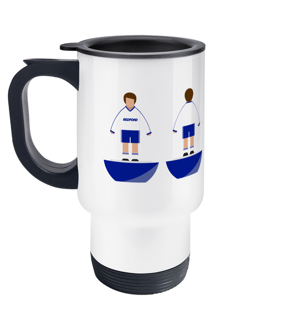 Football Player 'Luton 1988' Travel Mug