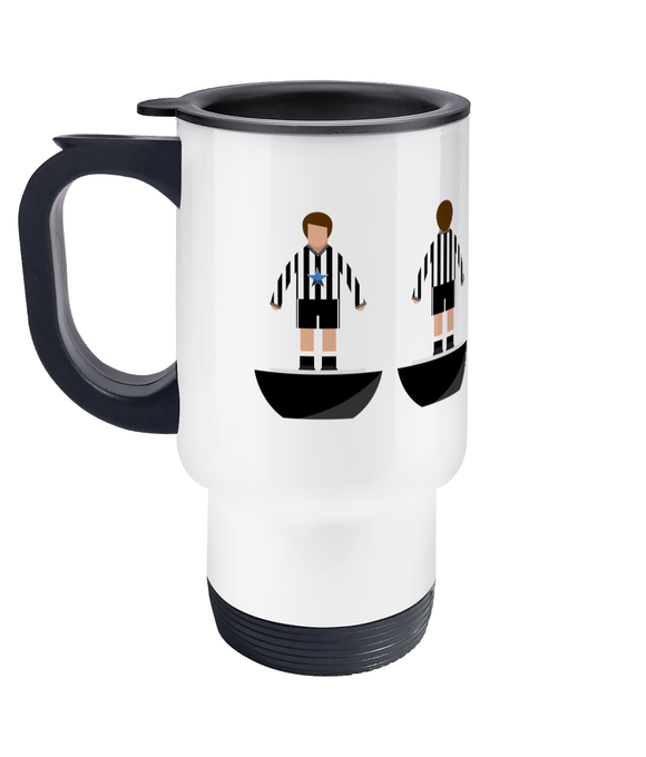 Football Player 'Newcastle 1983' Travel Mug