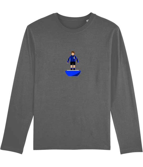 Football Player 'Inter Milan 1967 Mini Print' Men's Long Sleeve