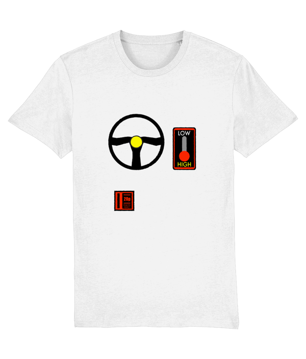 Gaming Arcade 'Driving' Unisex T-Shirt