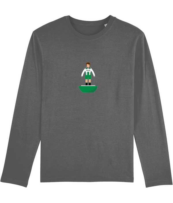 Football Player 'Plymouth 1997 Mini Print' Men's Long Sleeve