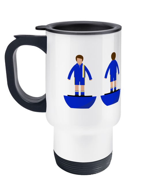 Football Player 'Cardiff 1976' Travel Mug