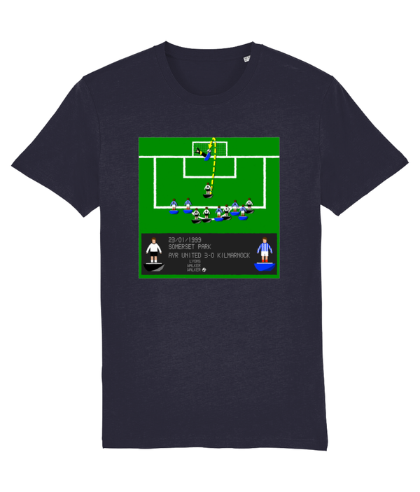 Football Iconic Moment 'Andy Walker AYR v Kilmarnock 1999' Unisex T-Shirt