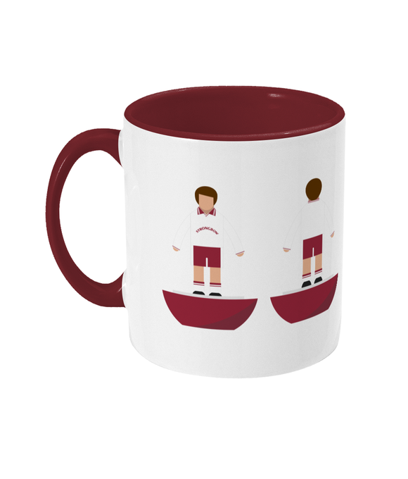 Football Player 'Hearts 1998 Cup Final' Mug