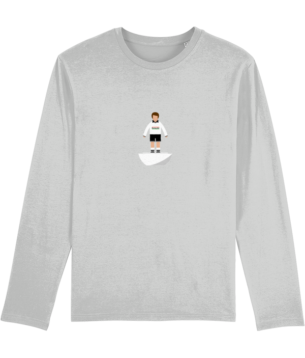 Football Player 'Swansea 1996 Mini Print' Men's Long Sleeve
