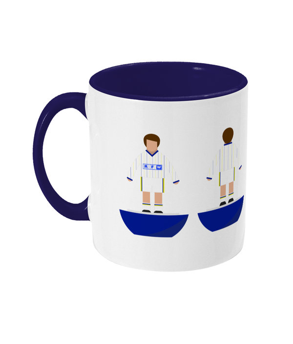 Football Player 'Leeds 1981' Mug