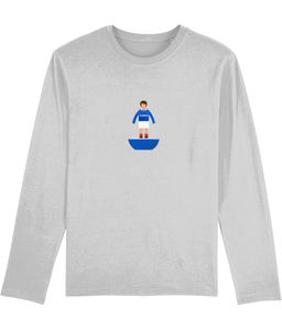 Football Player 'Portsmouth 1991 Mini Print' Men's Long Sleeve
